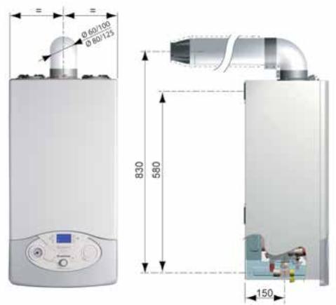 caldaia ariston clas premium evo a condensazione vendita ingrosso a roma schema tecnico