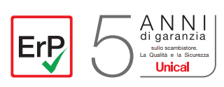 Caldaia Unical Idea 24 kw a camera aperta vendita a roma