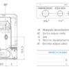 Caldaia Riello Family KI 24 kw a camera aperta collegamenti idraulici e gas