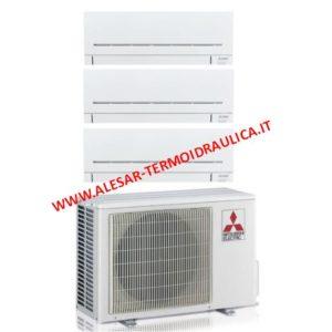 climatizzatore mitsubishi trial split serie ap a roma
